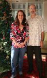 Dr. Linda Rich and Bruce Thomas